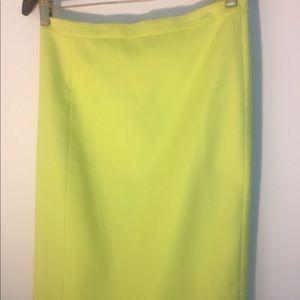 J. Crew pencil skirt, size 0